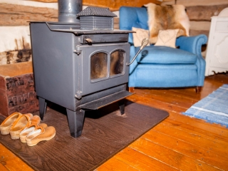 Upper Floor Wood Stove